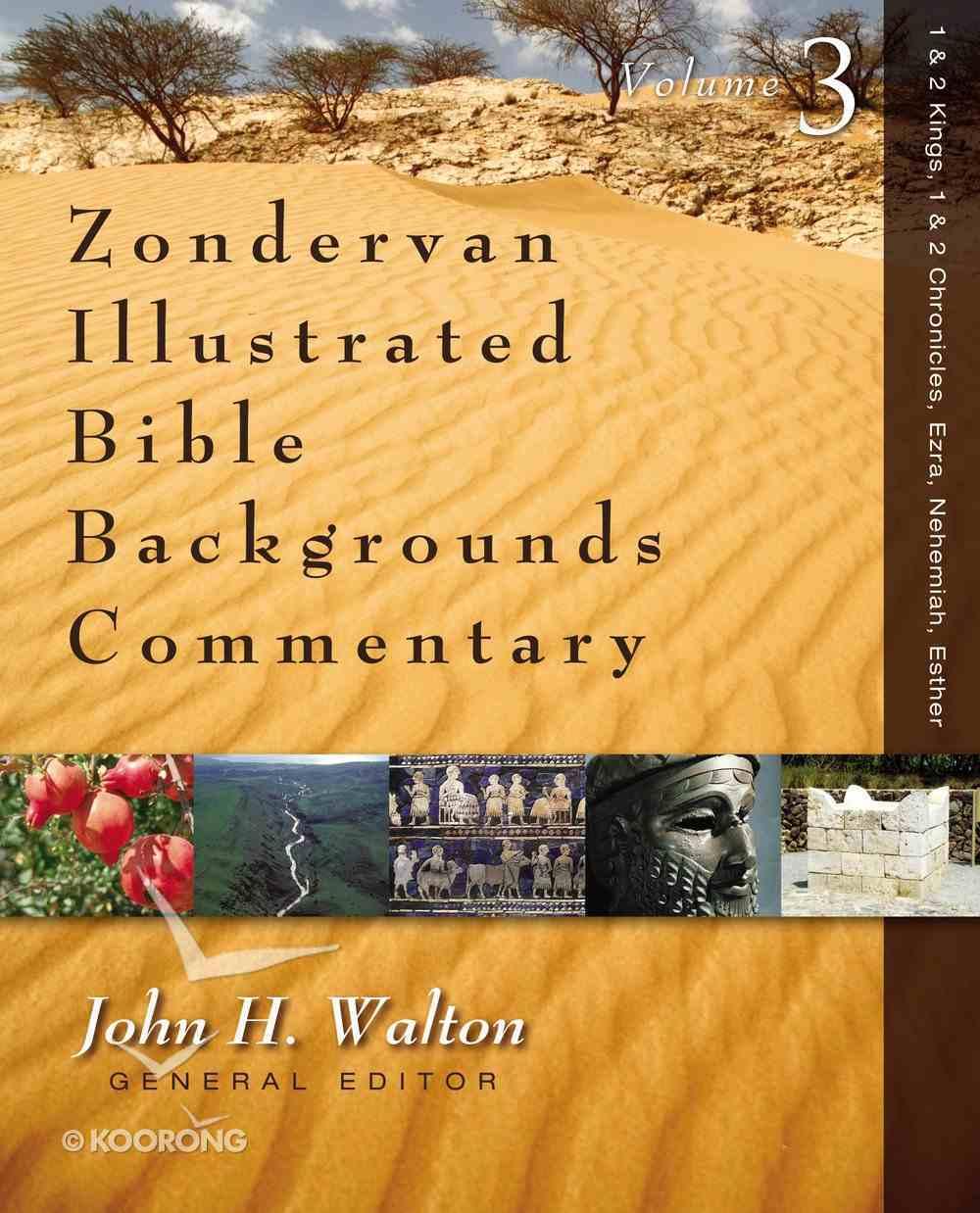 Ezra, Nehemiah, Esther, & Job (Zondervan Illustrated Bible Backgrounds Commentary Series) eBook