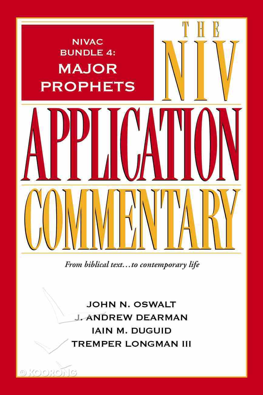 Major Prophets (#4 in Niv Application Commentary Series) eBook