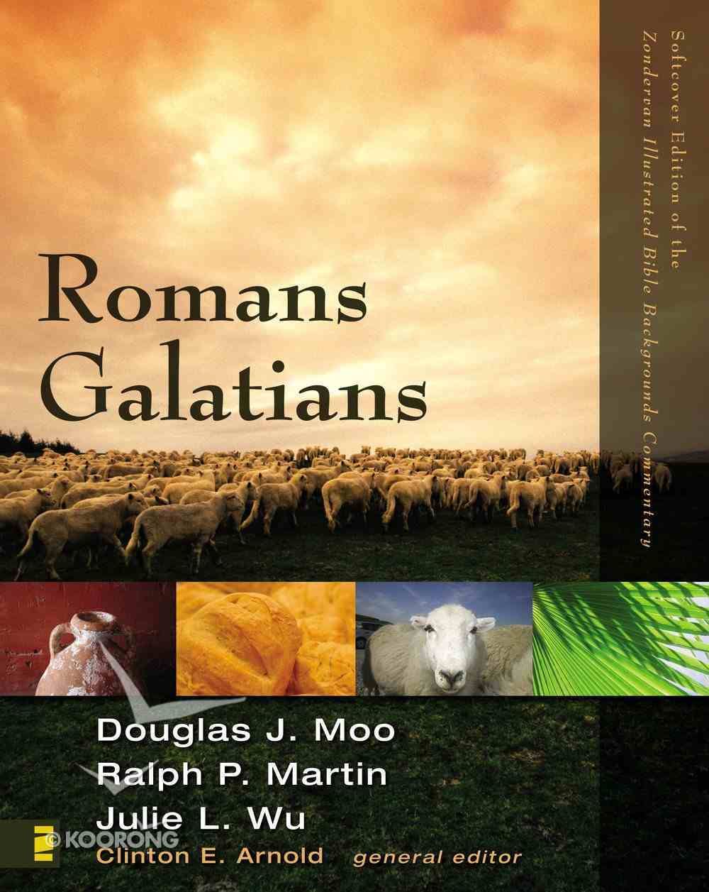 Romans, Galatians (Zondervan Illustrated Bible Backgrounds Commentary Series) eBook