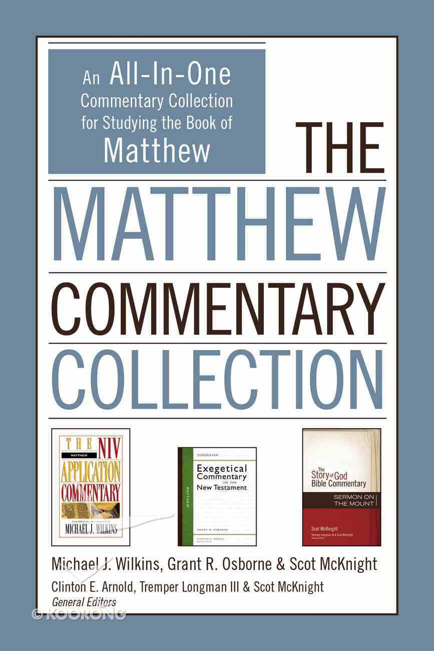 The Matthew Commentary Collection eBook