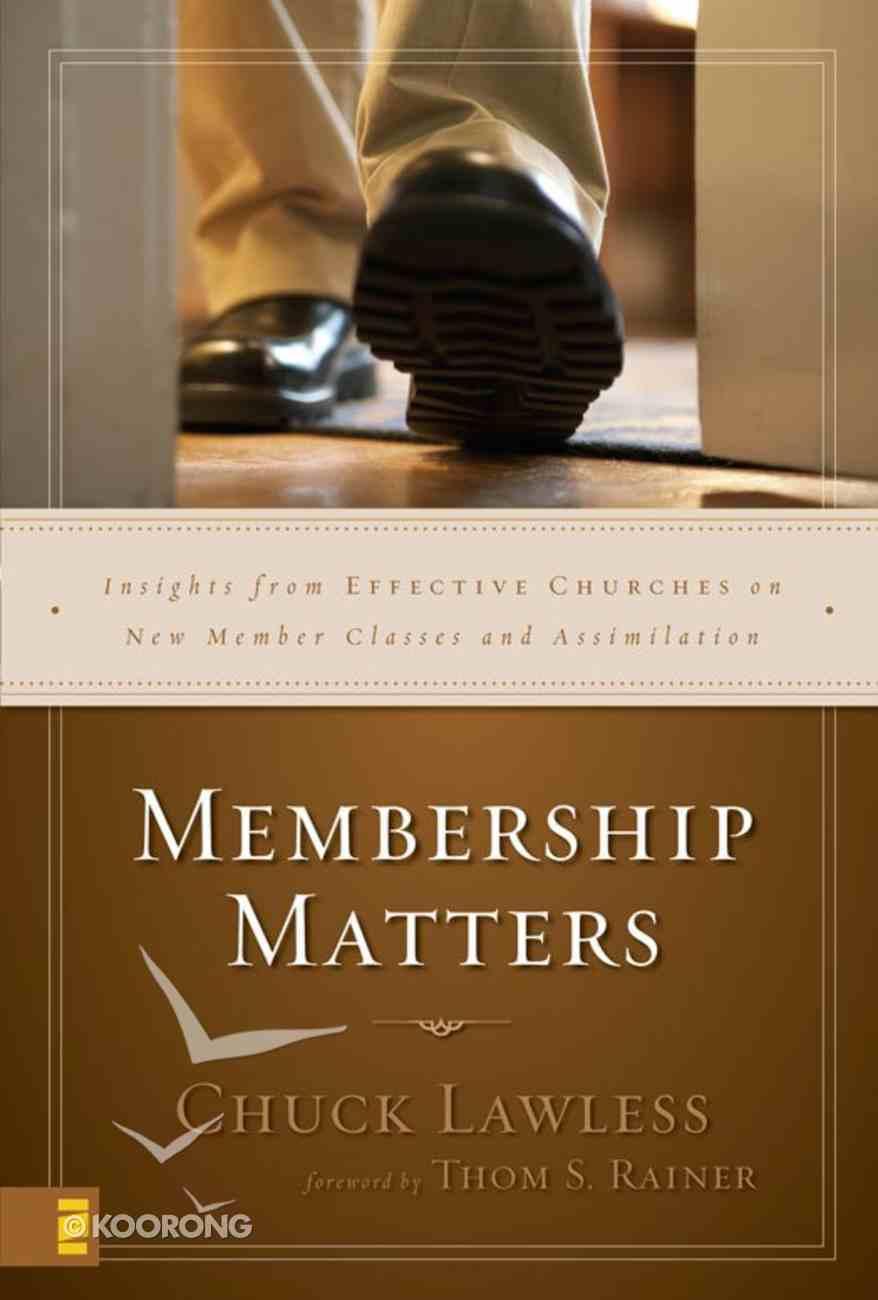 Membership Matters eBook
