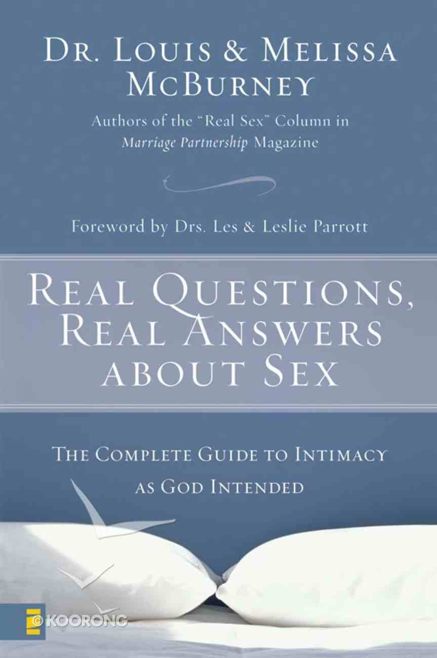 Real Questions, Real Answers About Sex eBook