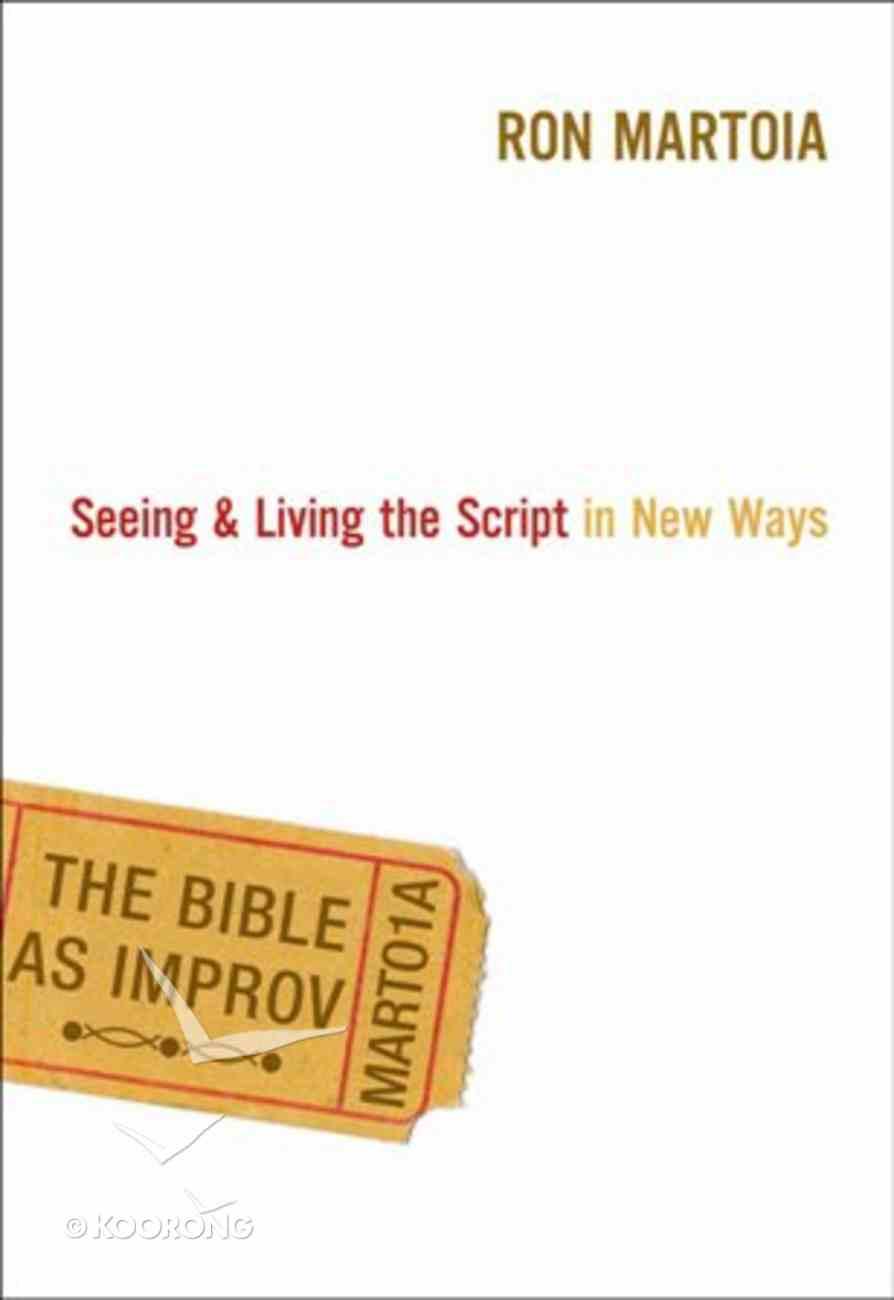 The Bible as Improv eBook
