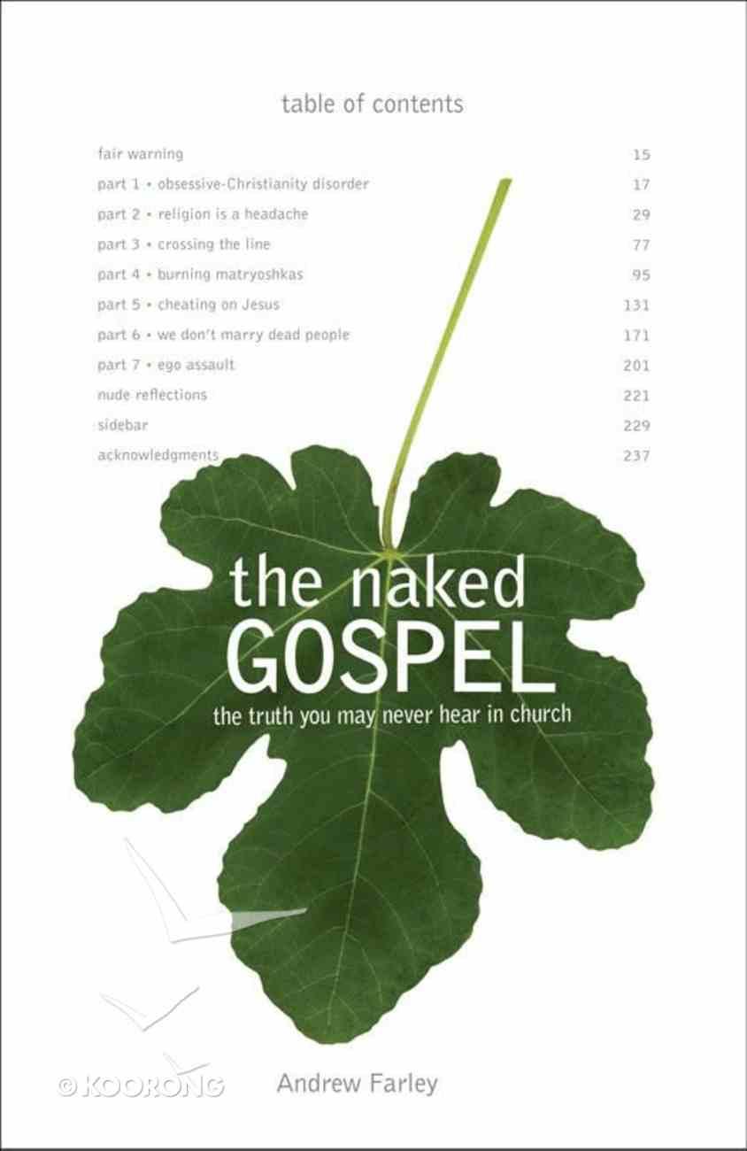 The Naked Gospel eBook
