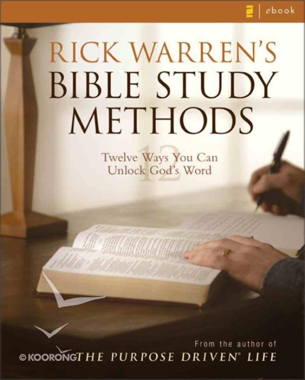 Rick Warren's Bible Study Methods eBook