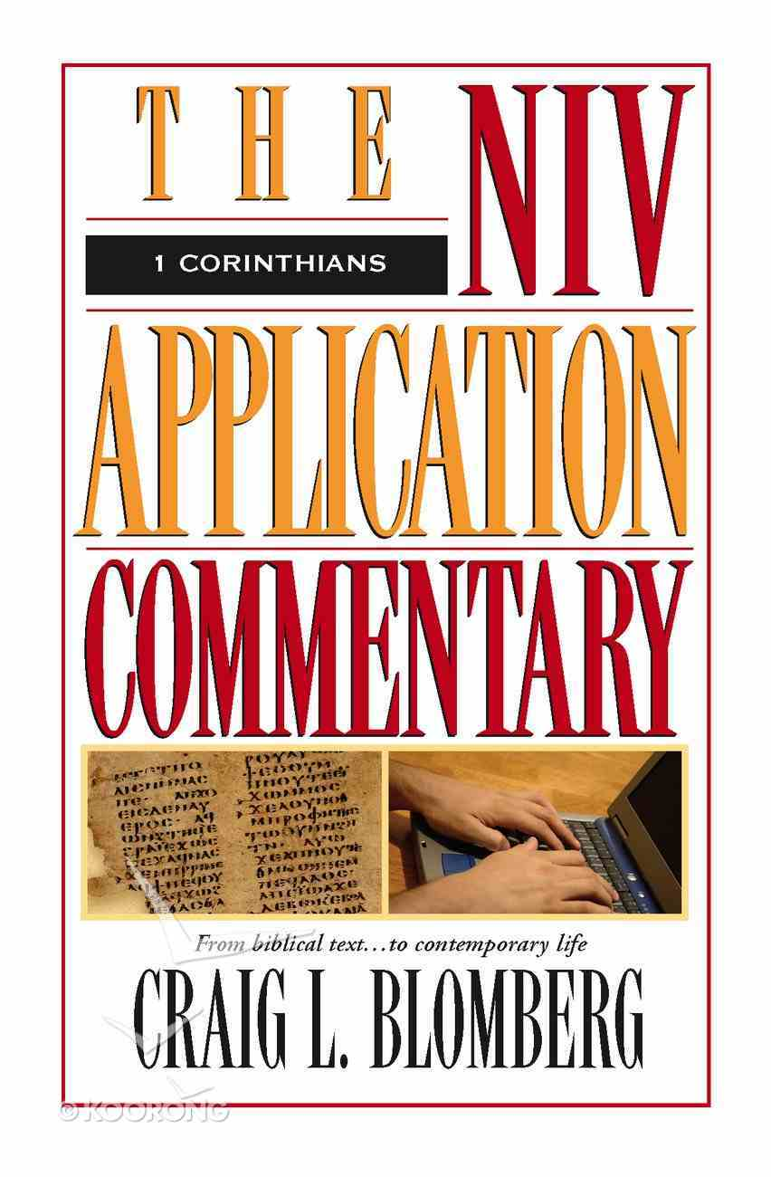 1 Corinthians (Niv Application Commentary Series) eBook