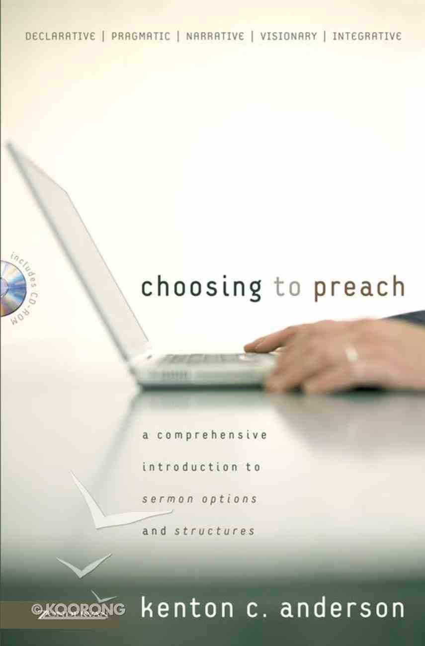 Choosing to Preach eBook