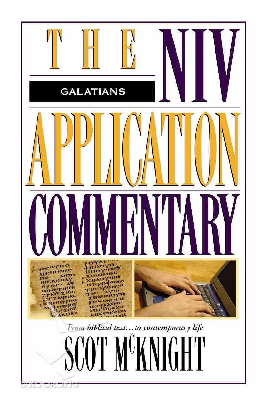 Galatians (Niv Application Commentary Series) eBook
