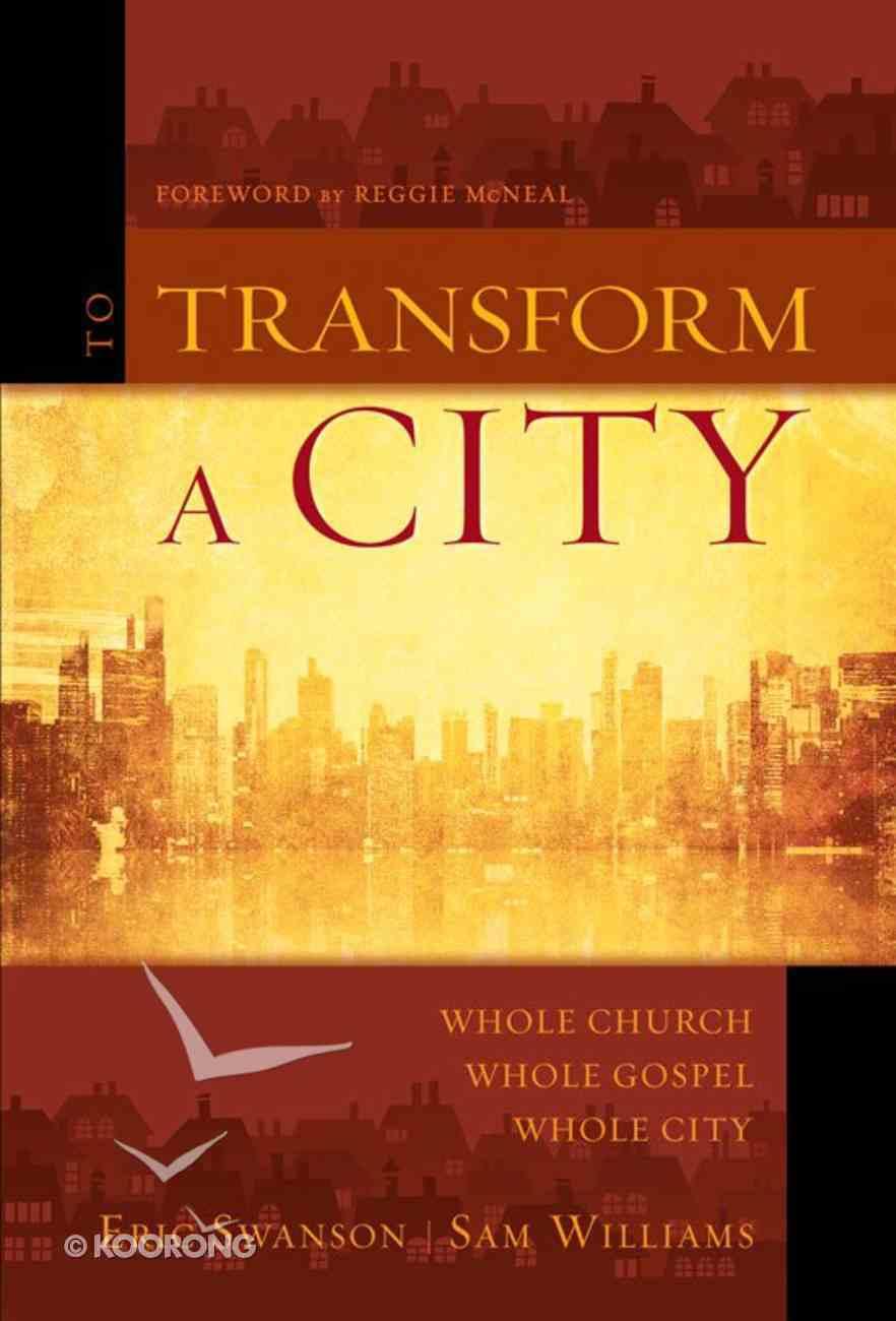 Transform a City, to eBook