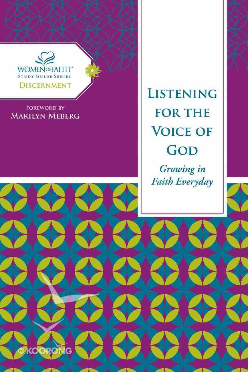 Following God's Guidance (Women Of Faith Study Guide Series) eBook