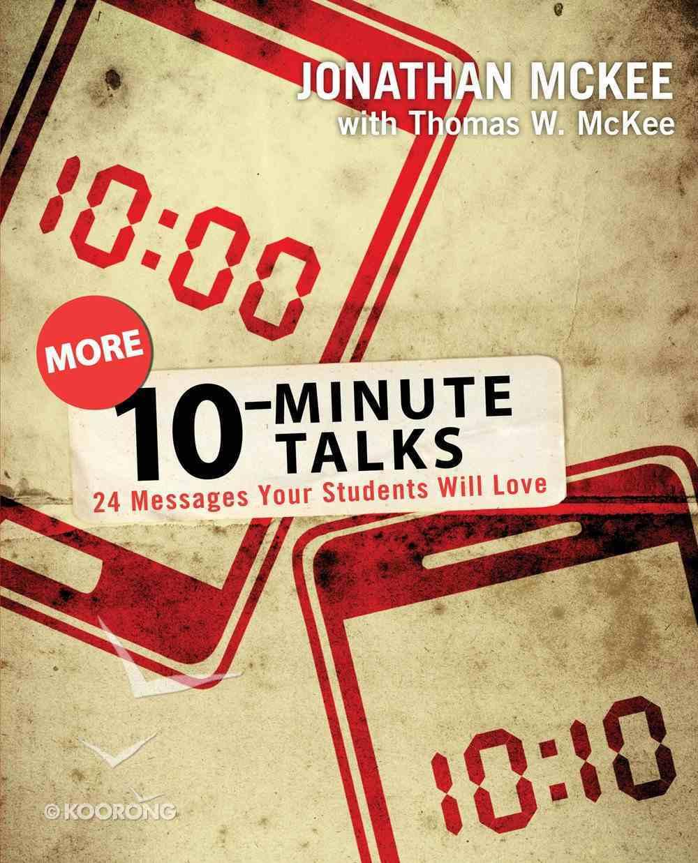 More 10-Minute Talks eBook