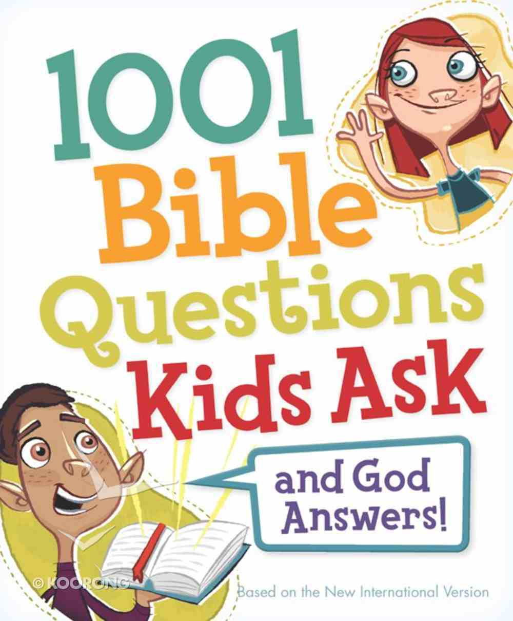 1001 Bible Questions Kids Ask eBook