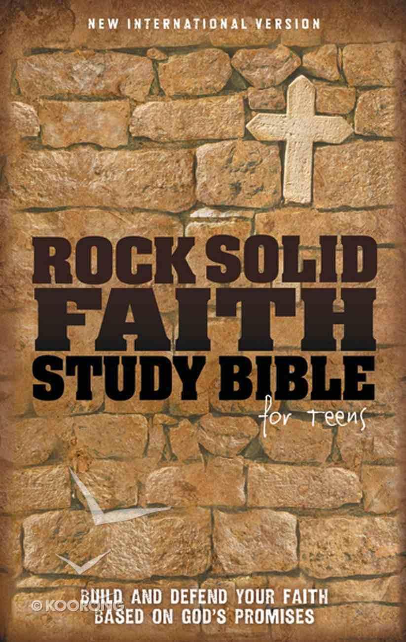 NIV Rock Solid Faith Study Bible For Teens eBook
