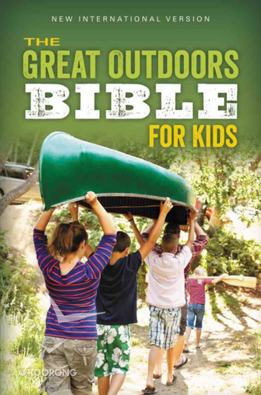 NIV Great Outdoors Bible For Kids Leaf Green eBook