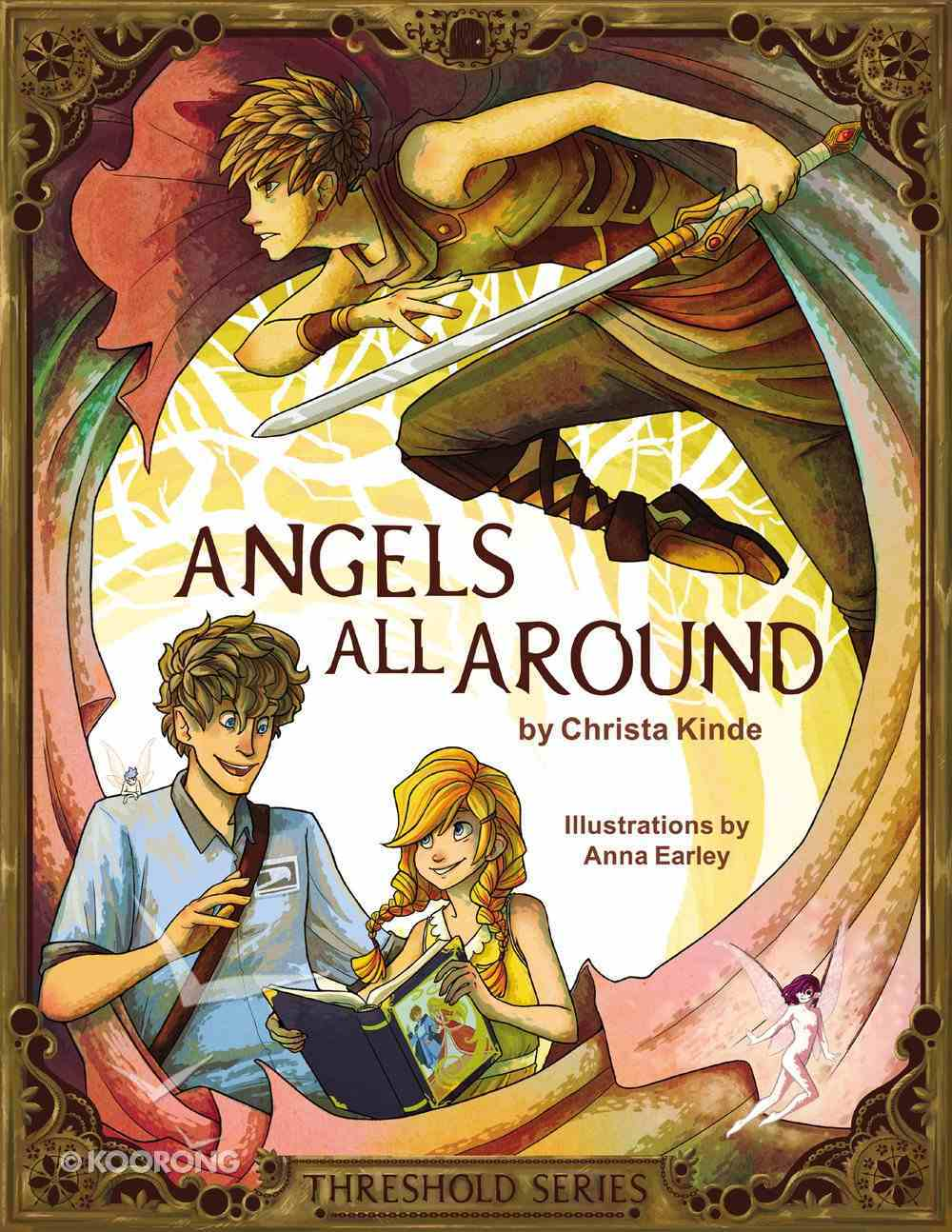 Angels All Around (Prequel) (The Threshold Series) eBook