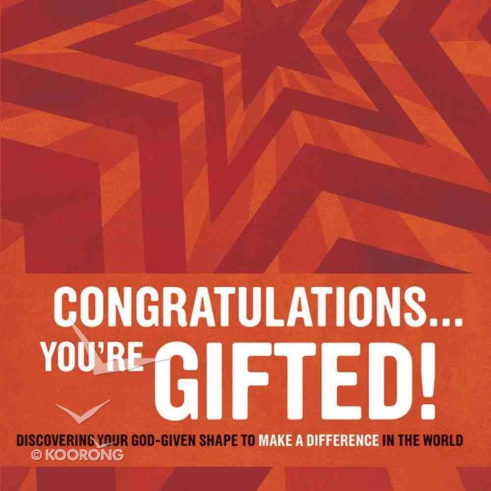 Congratulations ? You're Gifted! eAudio Book