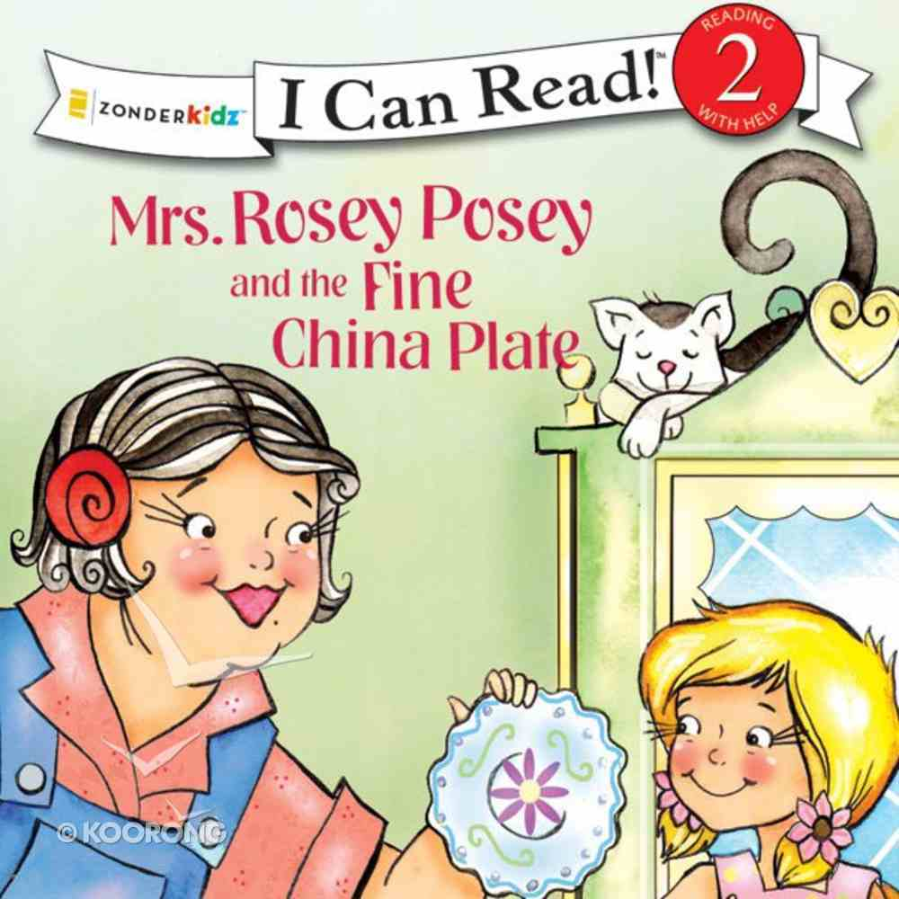 Mrs. Rosey Posey and the Fine China Plate (I Can Read!2 Series) eAudio Book