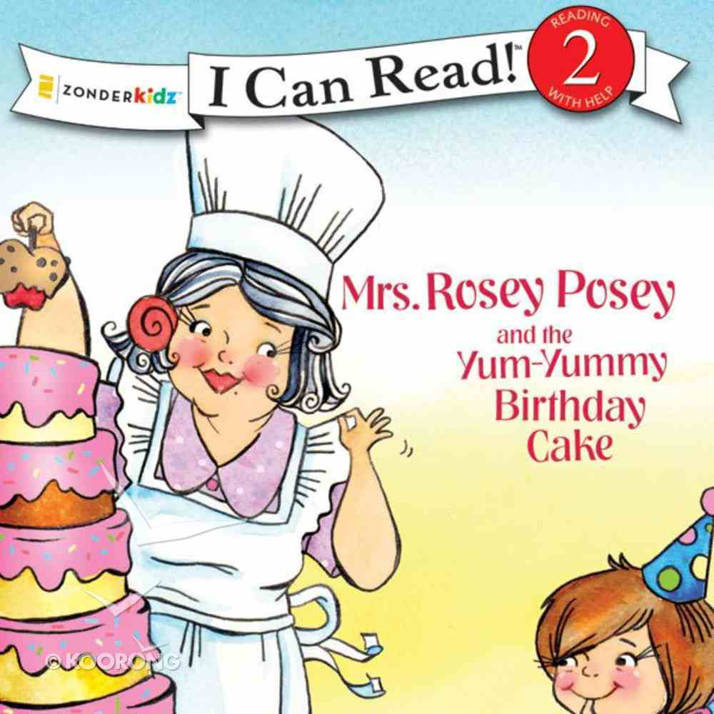 Mrs. Rosey Posey and the Yum-Yummy Birthday Cake eAudio Book