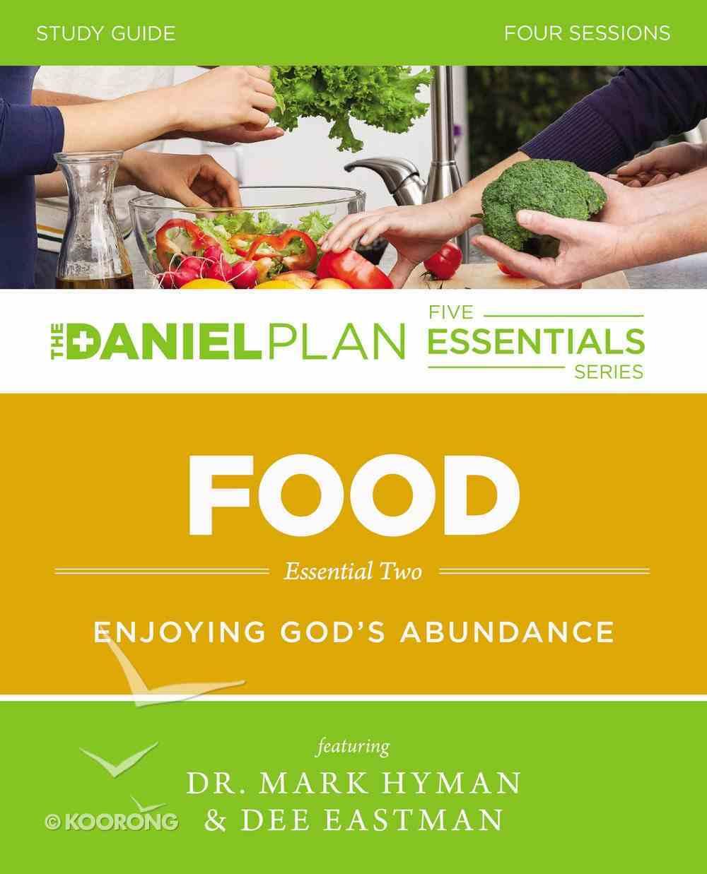 Food Study Guide (The Daniel Plan Essentials Series) eBook