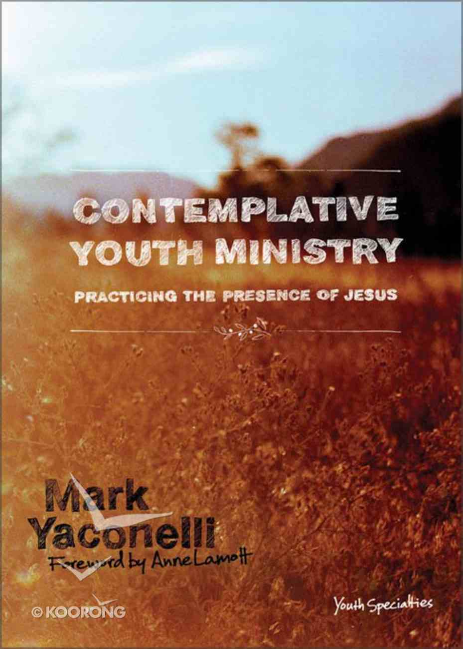 Contemplative Youth Ministry eBook