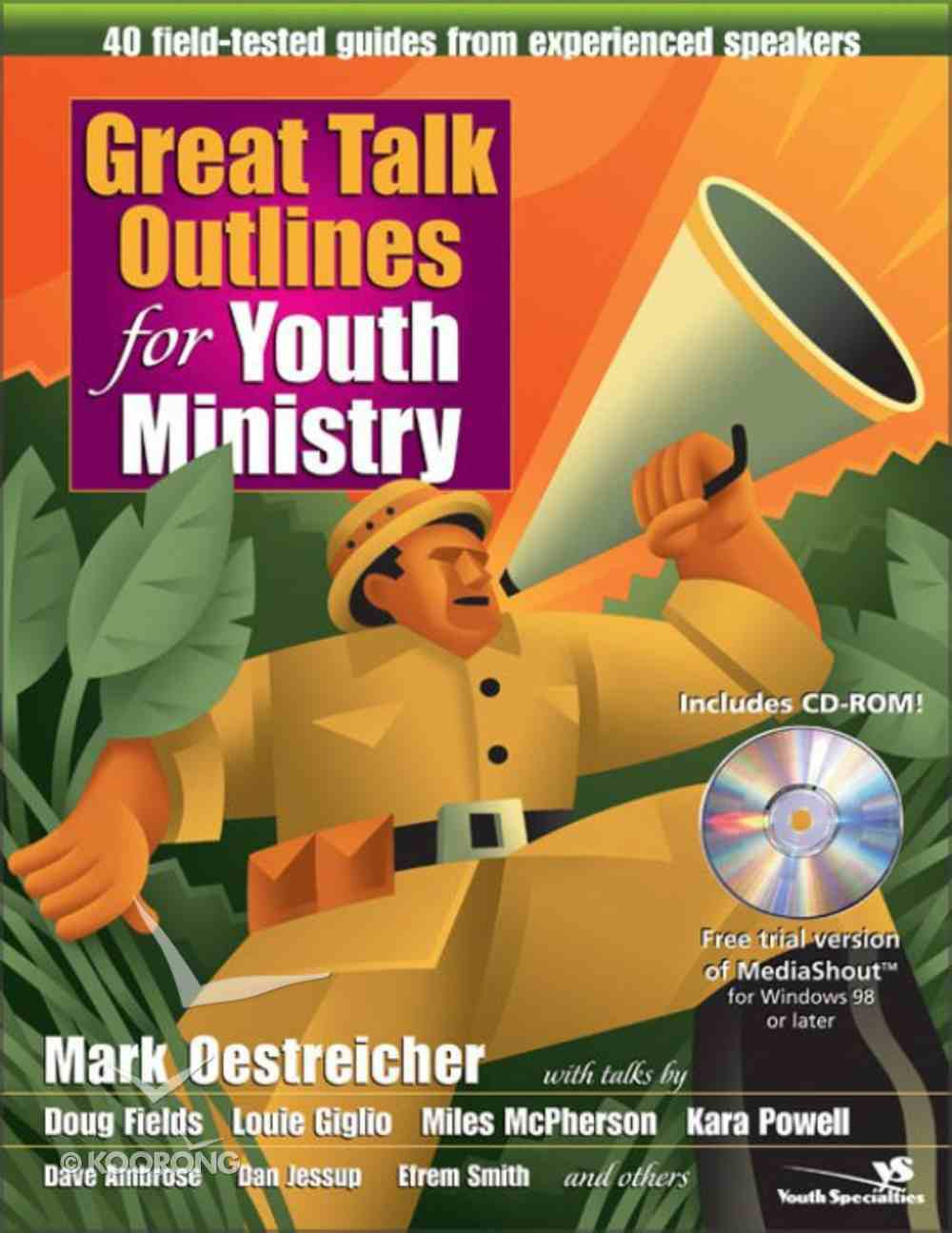 Great Talk Outlines For Youth Ministry eBook