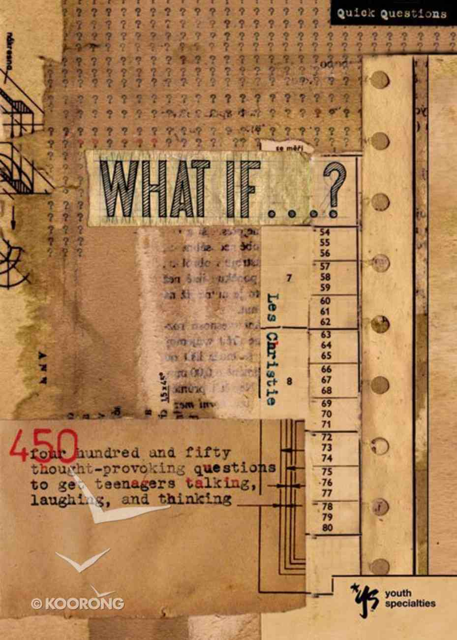 What If...? (Quick Questions Series) eBook