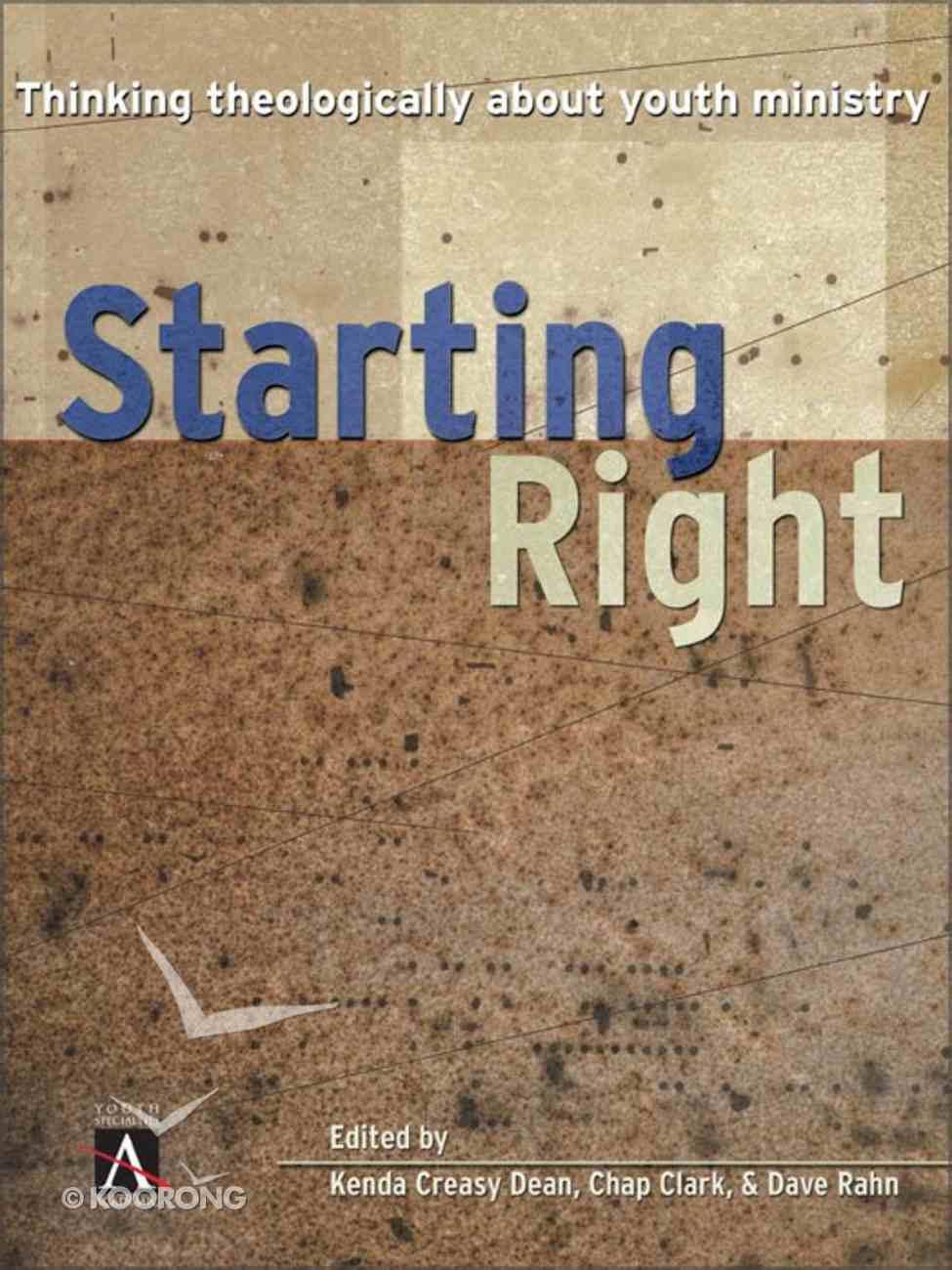 Starting Right eBook