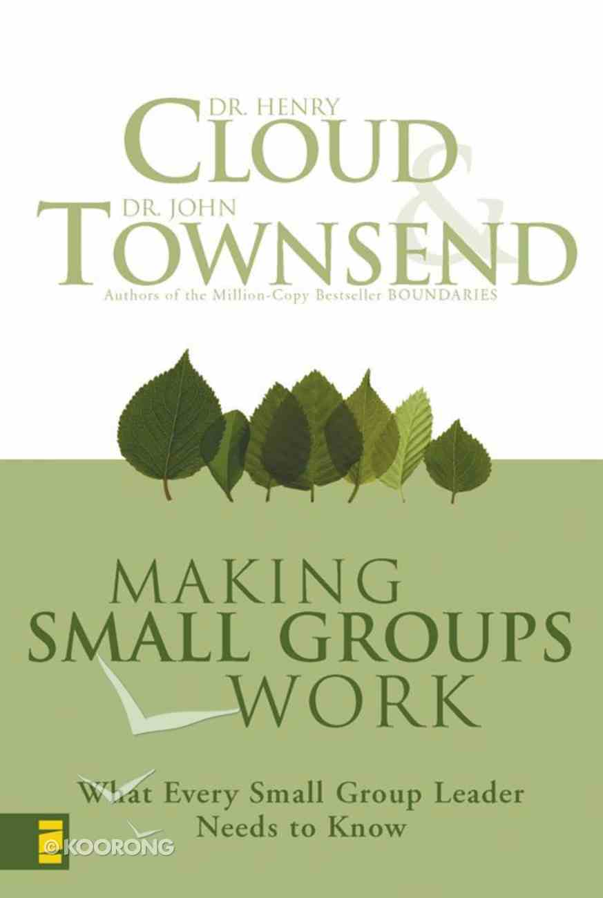 Making Small Groups Work eBook