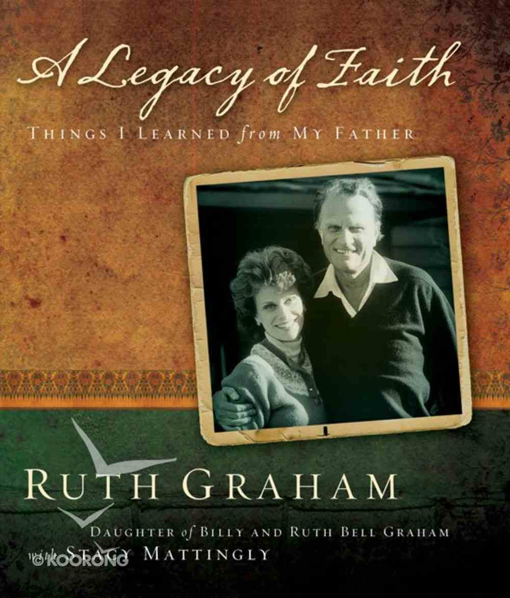 A Legacy of Faith eBook