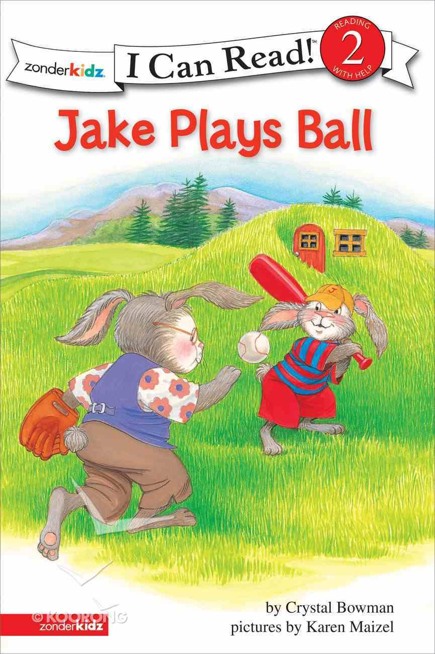 Jake Plays Ball (I Can Read!2/jake Series) eBook