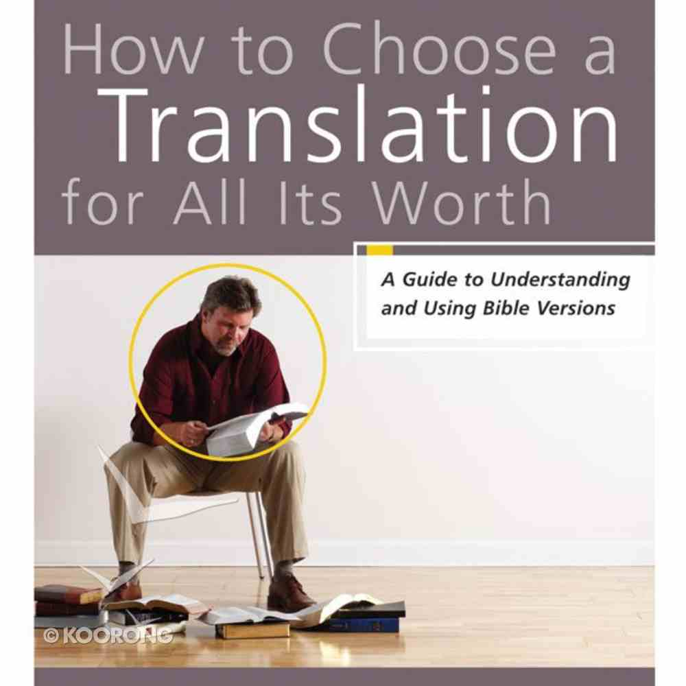 How to Choose a Translation For All Its Worth eAudio Book