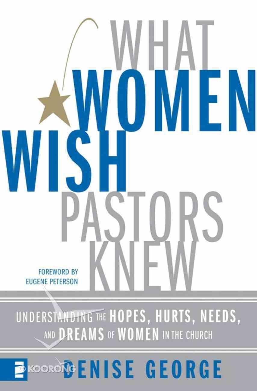 What Women Wish Pastors Knew eAudio Book
