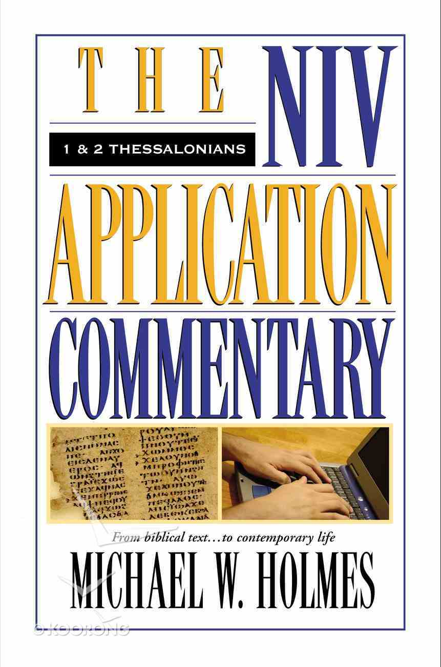 1 & 2 Thessalonians (Niv Application Commentary Series) eBook