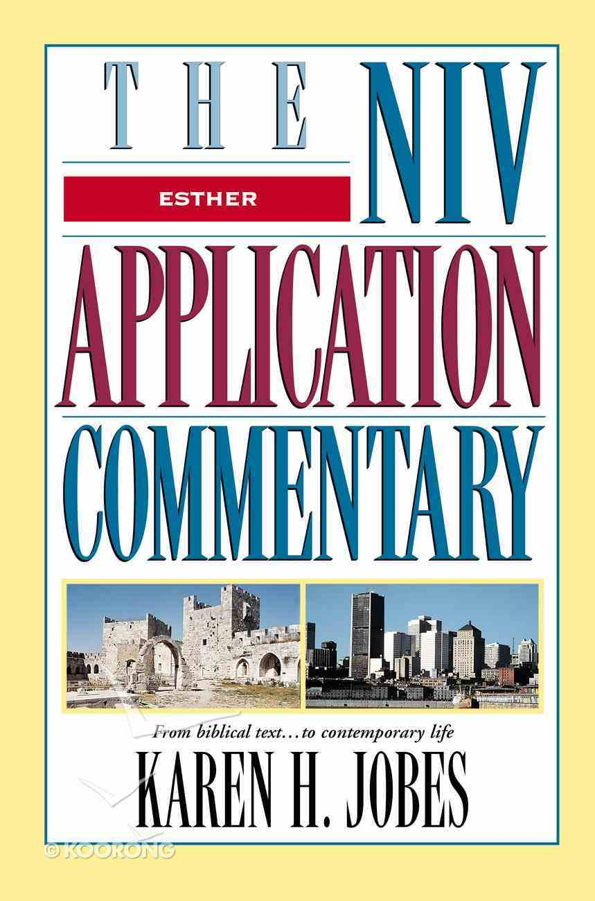 Esther (Niv Application Commentary Series) eBook