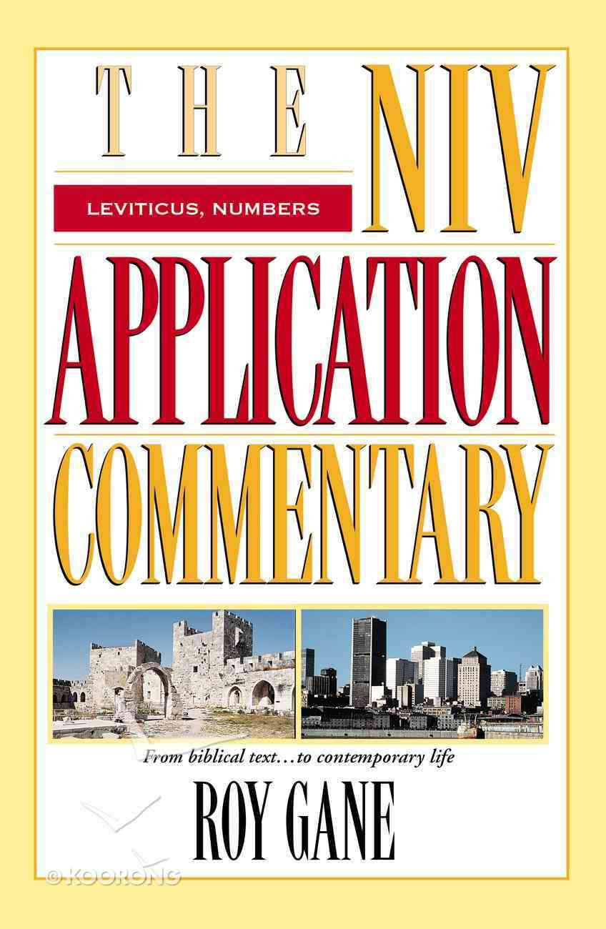 Leviticus/Numbers (Niv Application Commentary Series) eBook