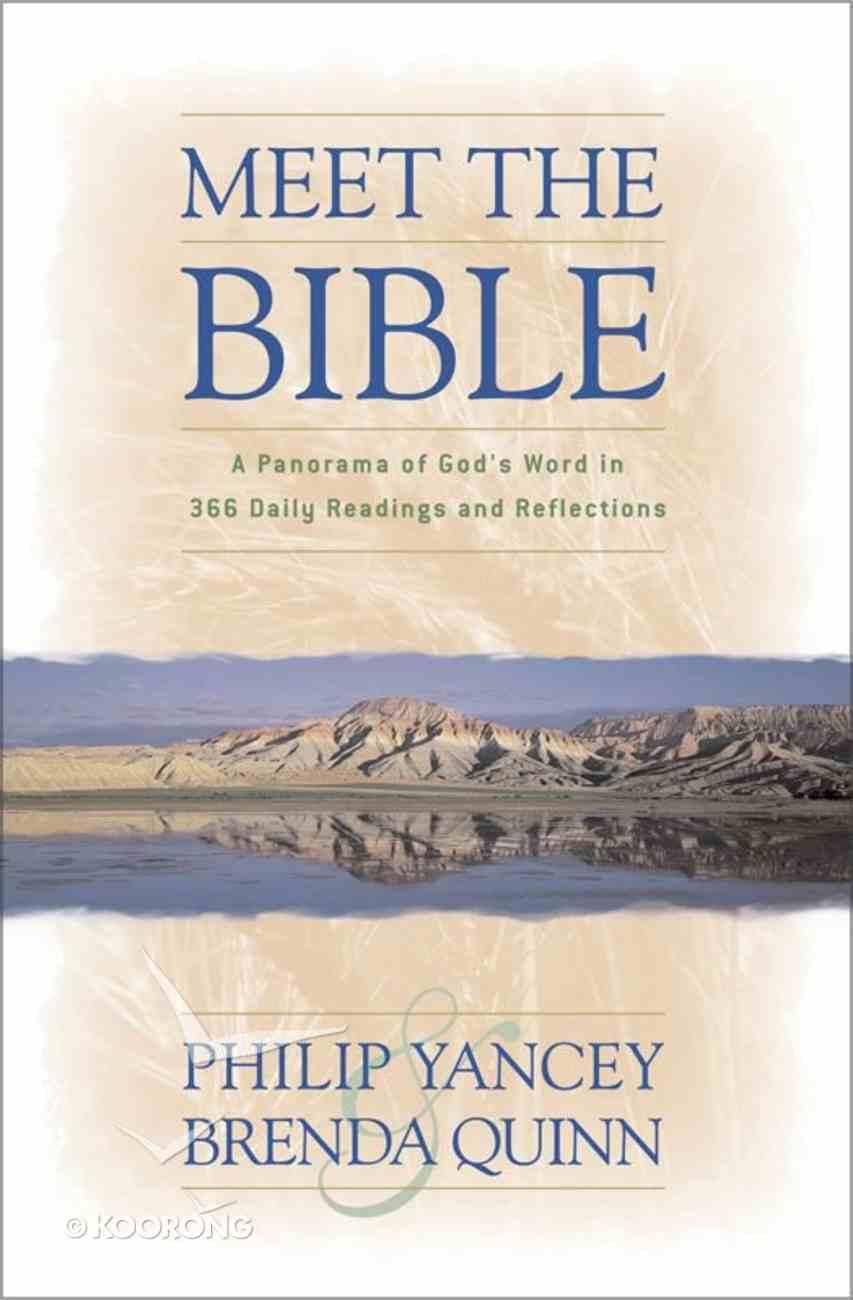 Meet the Bible eBook