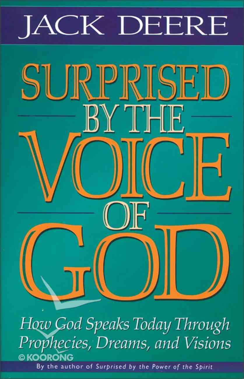 Surprised By the Voice of God eBook