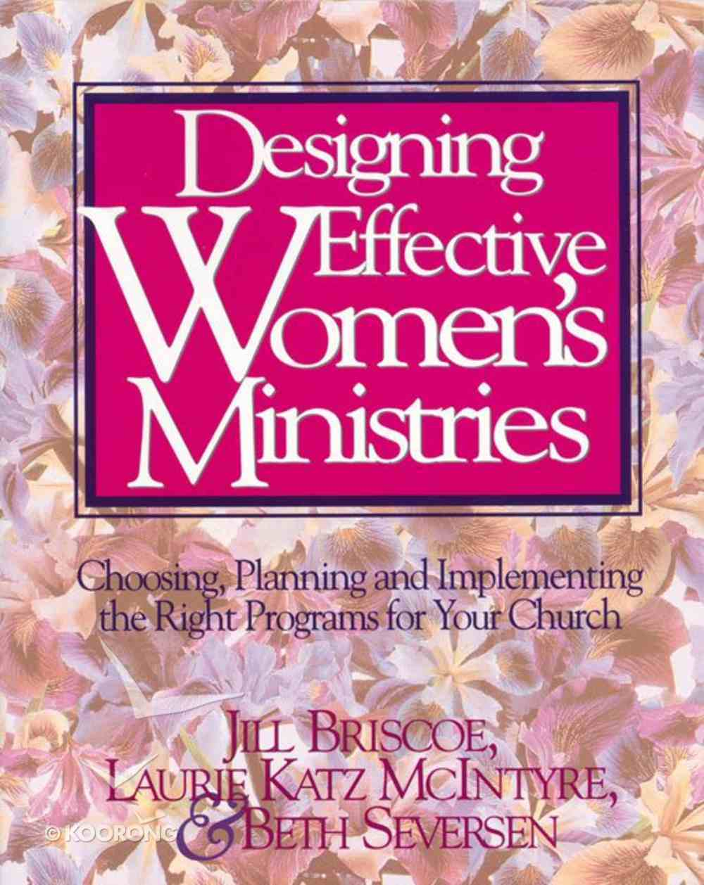 Designing Effective Women's Ministries eBook