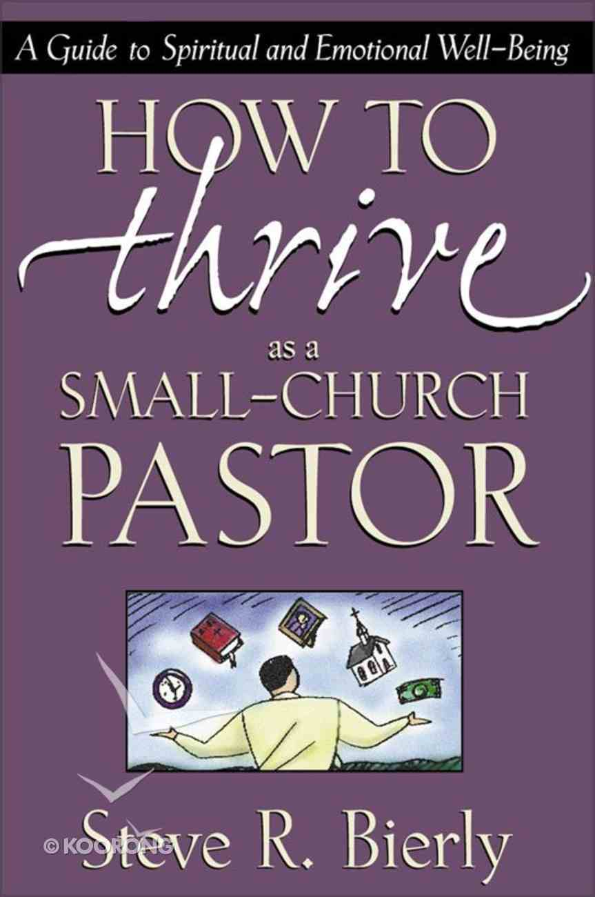How to Thrive as a Small Church Pastor eBook