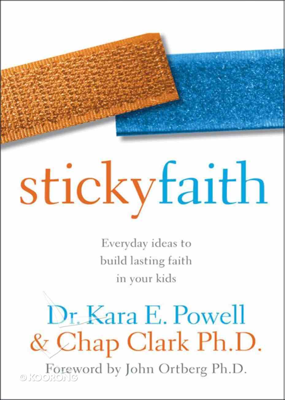 Sticky Faith (Youth Workers Edition) eBook
