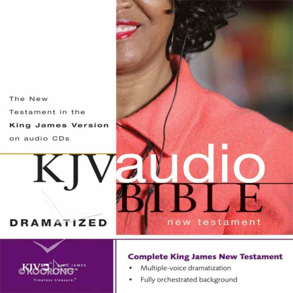 KJV, New Testament Dramatized Audio, Audio eAudio Book