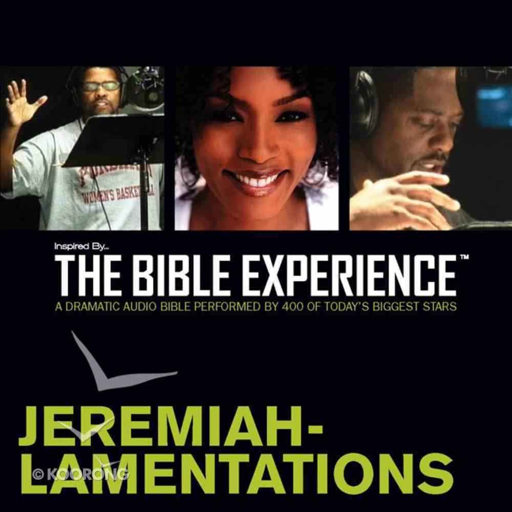 Inspired By?The Bible Experience: Jeremiah - Lamentations, Audio eAudio Book
