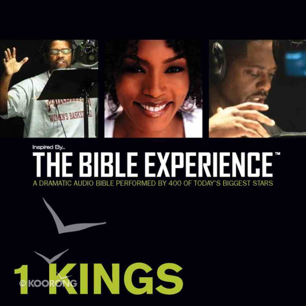Inspired By ? the Bible Experience: 1 Kings, Audio eAudio Book