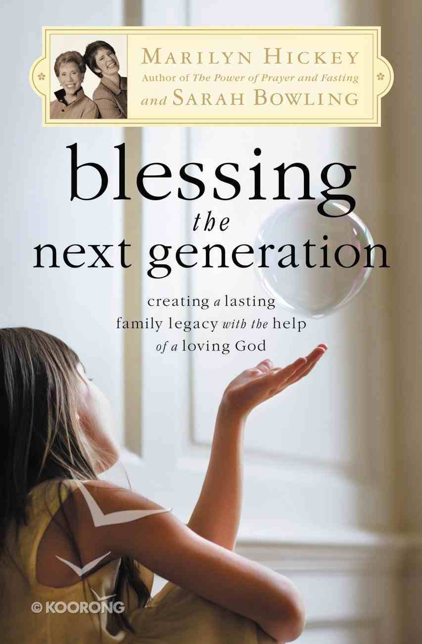 Blessing the Next Generation eBook