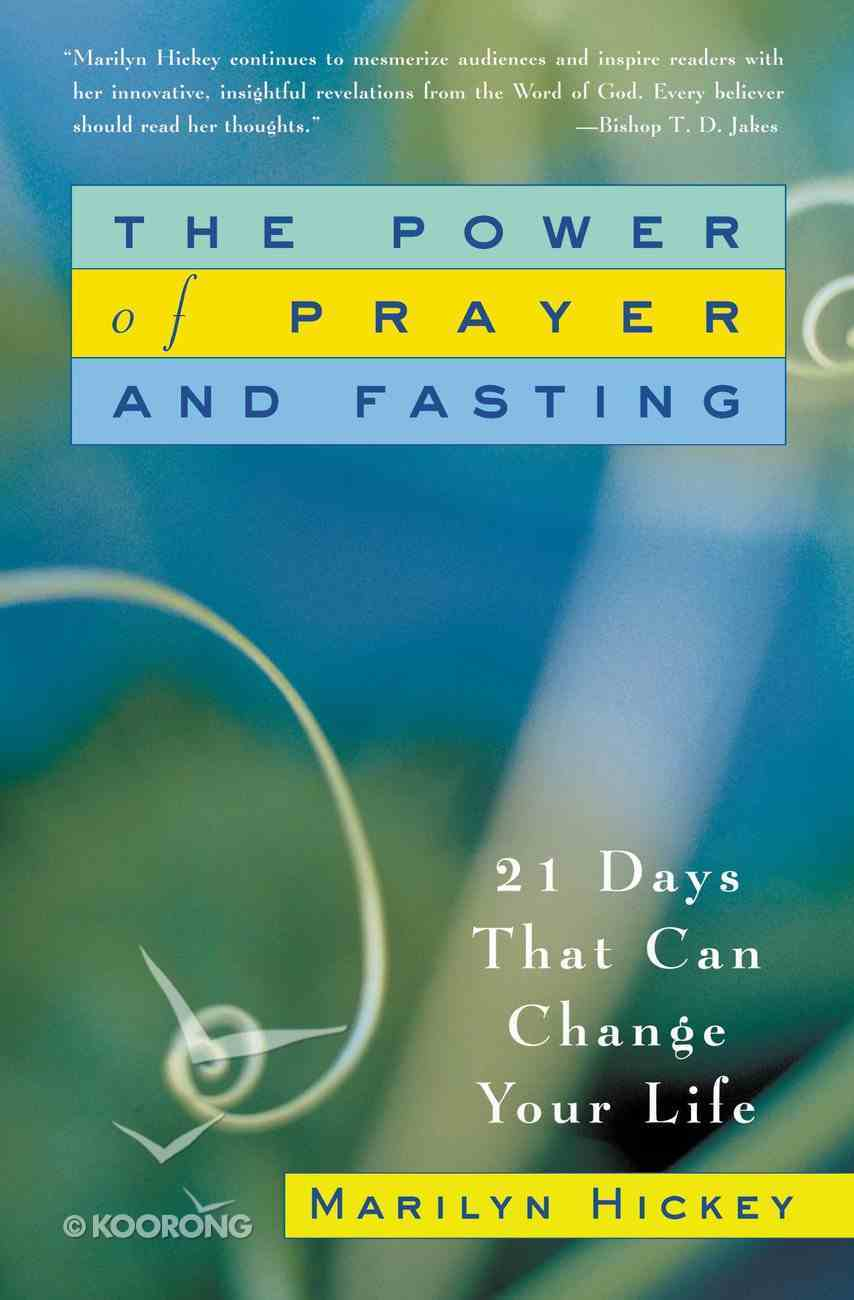 The Power of Prayer and Fasting eBook