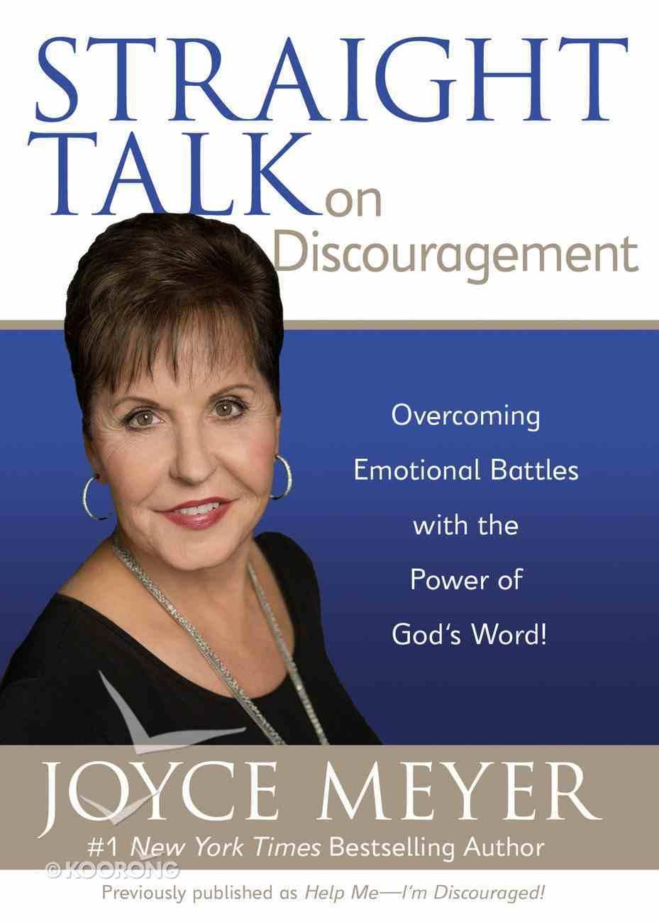 Straight Talk on Discouragement eBook