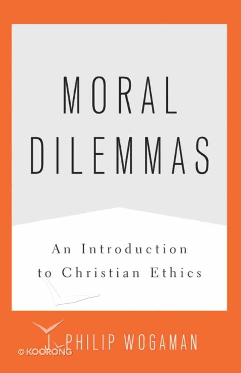 Moral Dilemmas Paperback