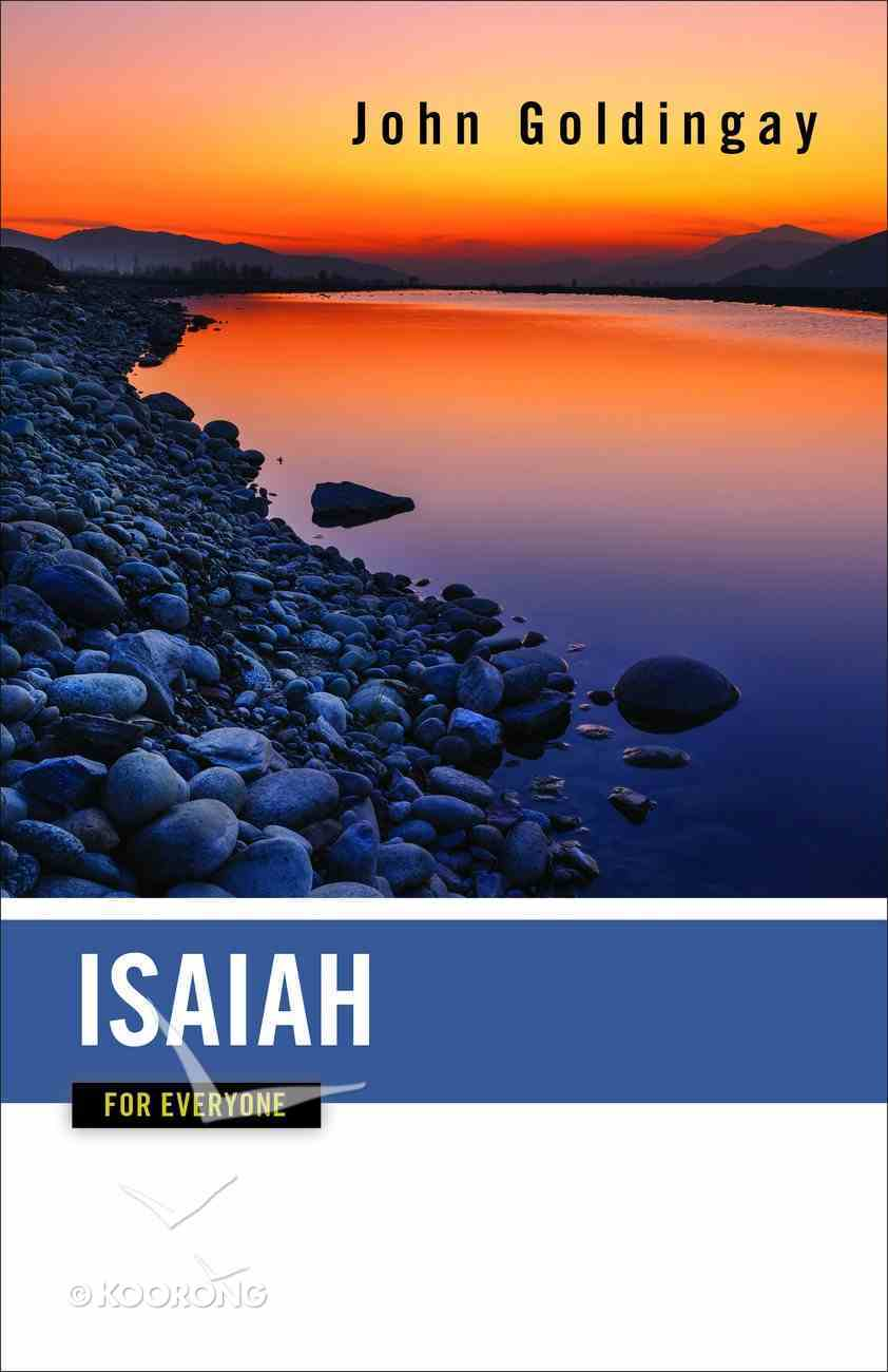 Isaiah For Everyone (Old Testament Guide For Everyone Series) Paperback