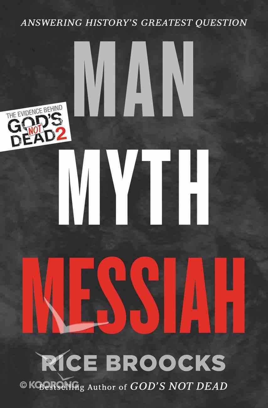 Man, Myth, Messiah eBook
