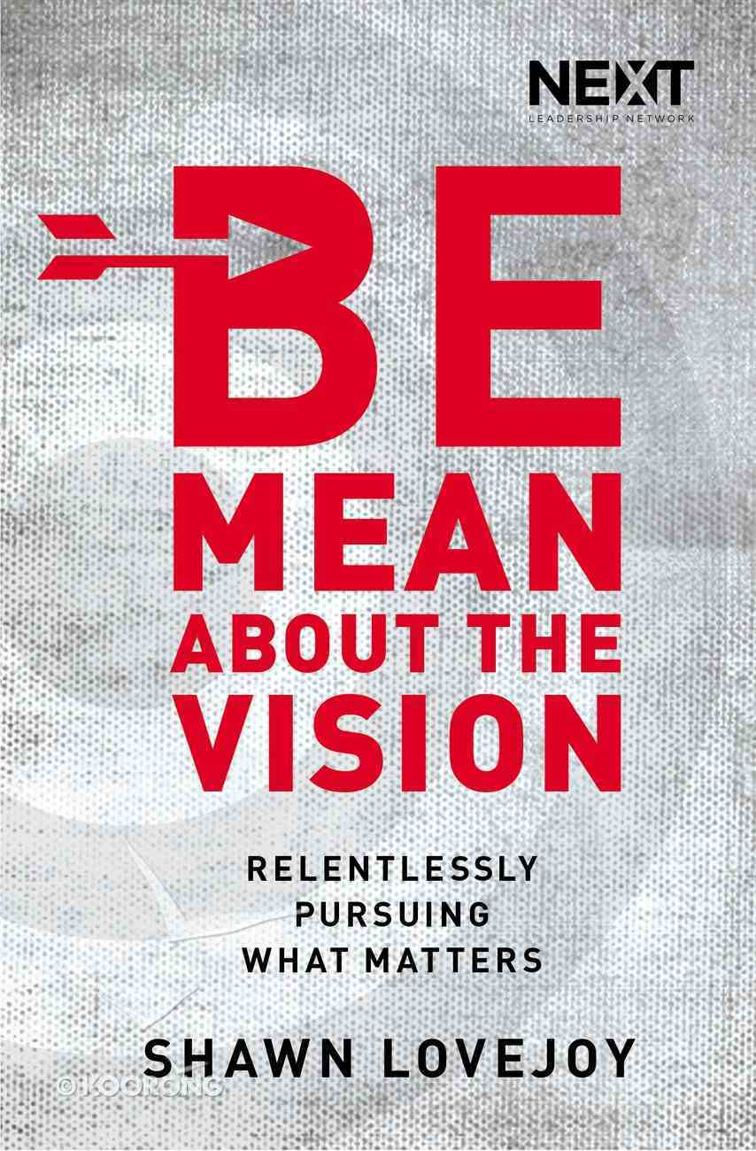 Be Mean About the Vision eBook